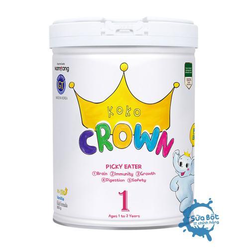Sữa Koko Crown Picky Eater số 1 (dành cho trẻ từ 1-2 tuổi)