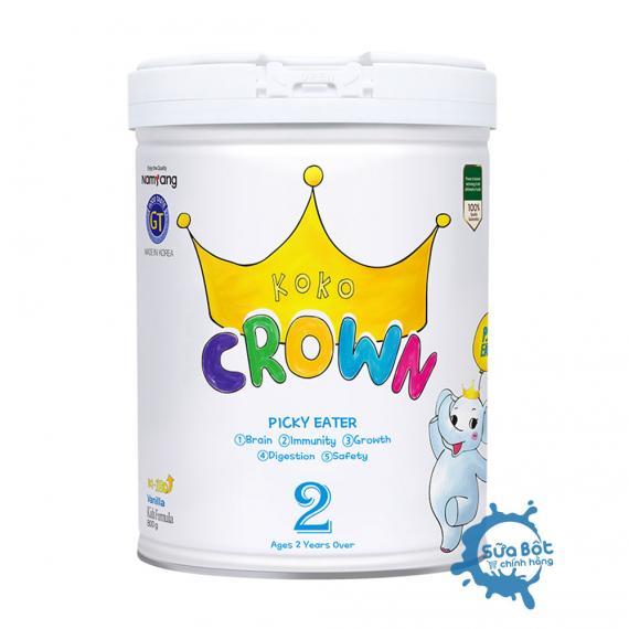 Sữa Koko Crown Picky Eater số 2 (dành cho trẻ từ 2 tuổi trở lên)
