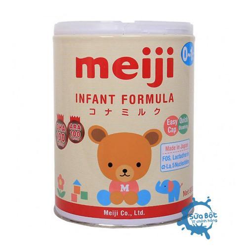 Sữa Meiji 0 Nhật Bản 800g (dành cho trẻ 0 - 12 tháng)