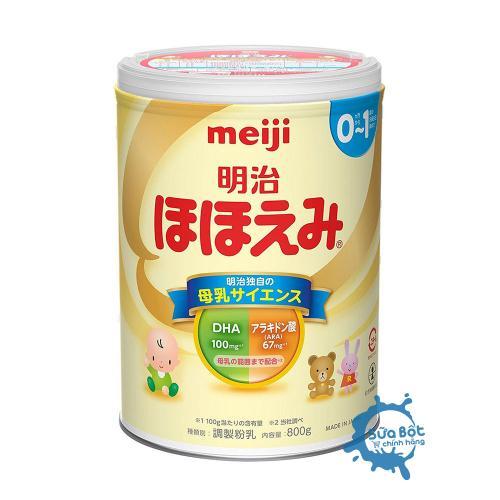 Sữa Meiji 0 Nội Địa Nhật Bản 800g (dành cho trẻ 0 - 12 tháng)
