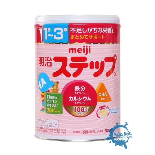 Sữa Meiji 9 Nội Địa Nhật Bản 800g (dành cho trẻ 1-3 tuổi)