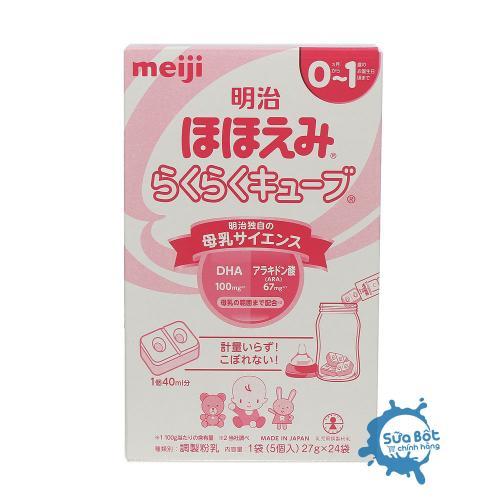 Sữa Meiji Thanh số 0 Nội Địa Nhật Bản (dành cho trẻ từ 0-12 tháng)