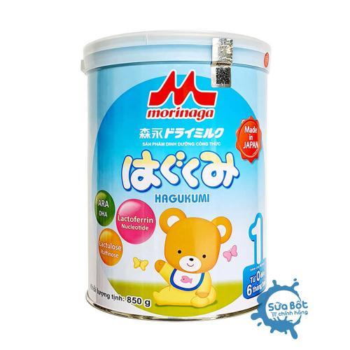 Sữa Morinaga 1 850g (dành cho trẻ từ 0-6 tháng)