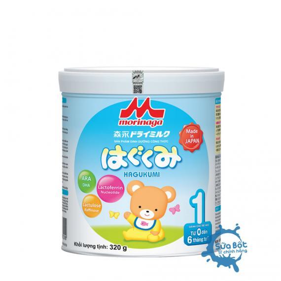 Sữa Morinaga 1 320g (dành cho trẻ từ 0-6 tháng)