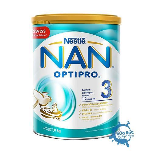 Sữa Nan Optipro 3 1,8kg (dành cho trẻ từ 1-2 tuổi)