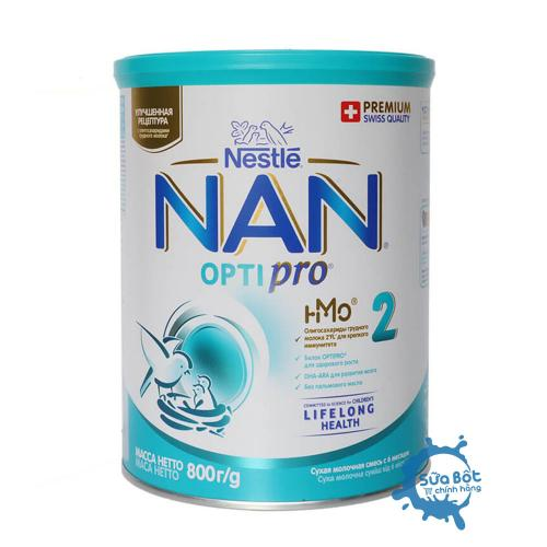 Sữa Nan Nga Optipro 2 800g (dành cho trẻ từ 6 - 12 tháng)