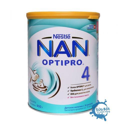 Sữa Nan Nga Optipro 4 800g (dành cho bé trên 18 tháng)