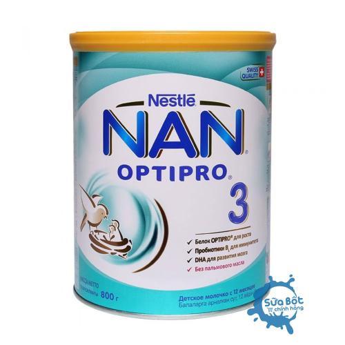 Sữa Nan Nga Optipro 3 800g (dành cho trẻ trên 1 tuổi)