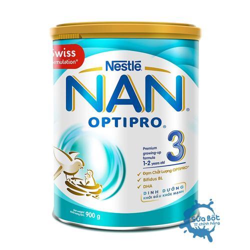 Sữa Nan Optipro 3 900g (dành cho trẻ từ 1-2 tuổi)