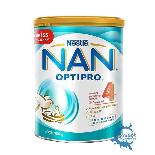 Sữa Nan Optipro 4 900g (dành cho trẻ từ 2-6 tuổi)