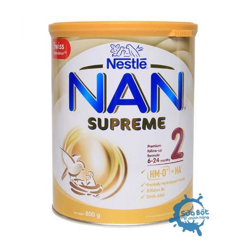 Sữa Nan Supreme 2 800g (dành cho trẻ từ 6-24 tháng)