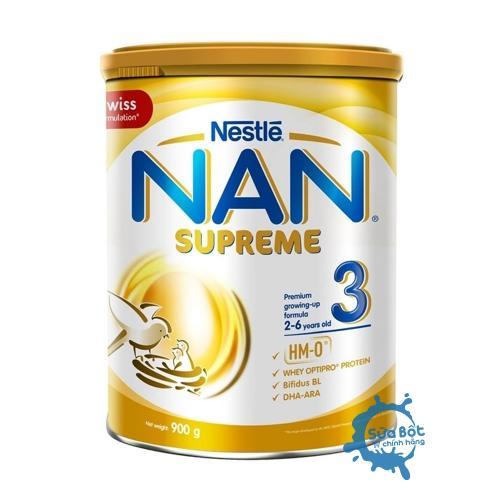 Sữa Nan Supreme 3 900g (dành cho trẻ từ 2-6 tuổi)