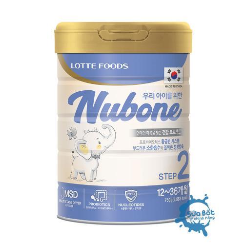 Sữa Nubone Step 2 gọi ngay hotline để được tư vấn giá tốt nhất