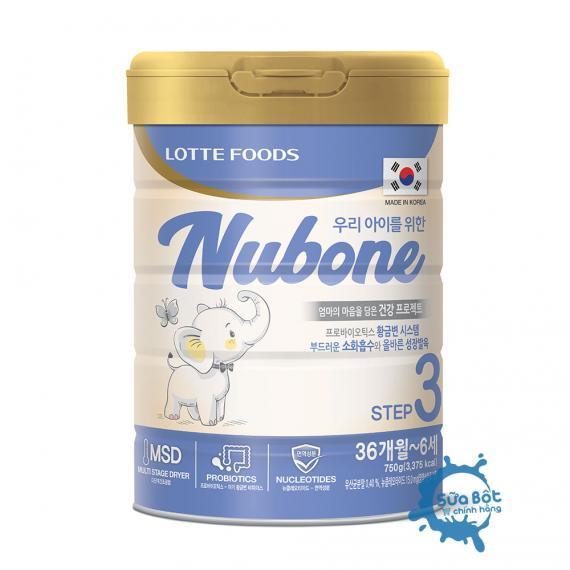 Sữa Nubone Step 3 gọi ngay hotline để được tư vấn giá tốt nhất