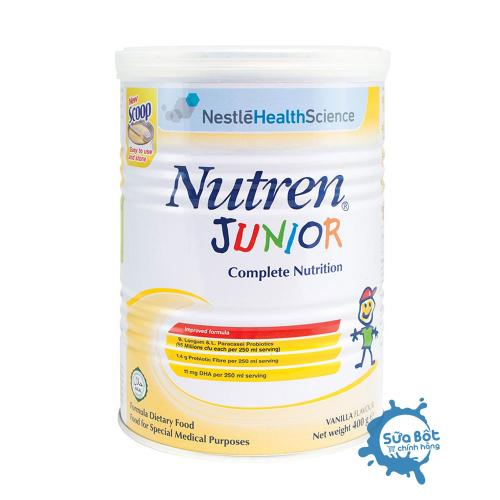 Sữa Nutren Junior 400g (dành cho trẻ từ 1-10 tuổi)