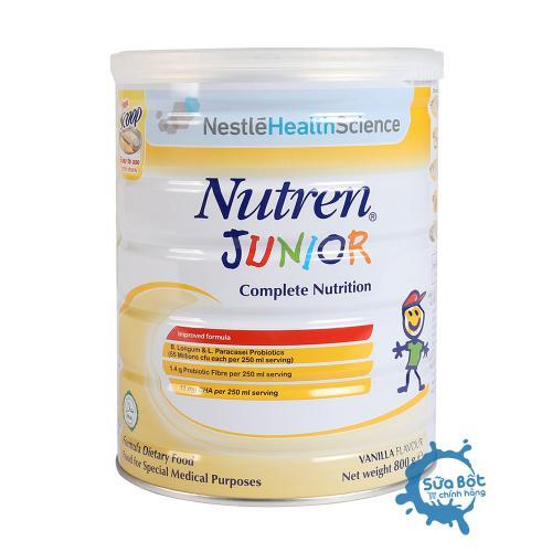 Sữa Nutren Junior 800g (dành cho trẻ từ 1-10 tuổi)