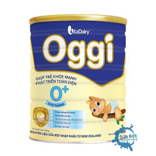 Sữa Oggi 0+ 800g (dành cho trẻ từ 0-12 tháng tuổi)