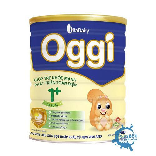 Sữa Oggi 1+ 900g (dành cho trẻ từ 1-2 tuổi)
