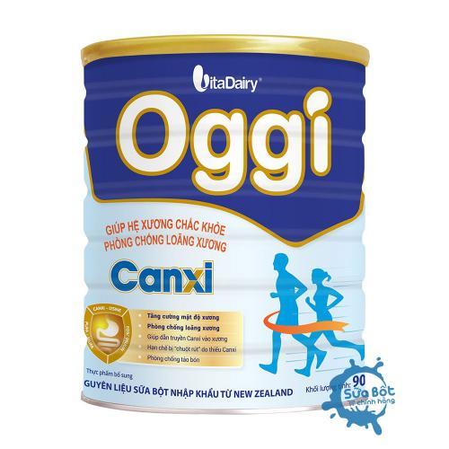Sữa Oggi Canxi 900g (dành cho người thiếu hụt canxi)