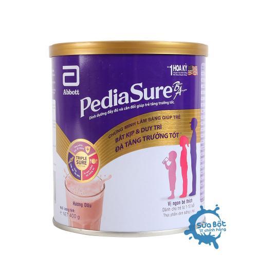 Sữa PediaSure hương Dâu 400g (dành cho trẻ từ 1 - 10 tuổi)
