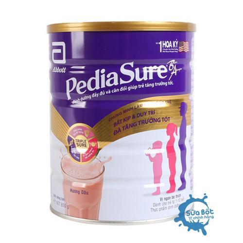 Sữa PediaSure hương Dâu 850g (dành cho trẻ từ 1 - 10 tuổi)
