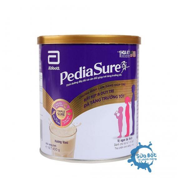 Sữa PediaSure hương Vani 400g (dành cho trẻ từ 1-10 tuổi)