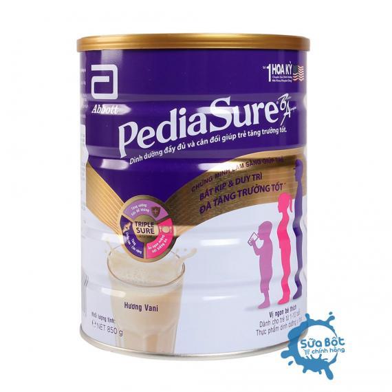 Sữa PediaSure hương Vani 850g (dành cho trẻ từ 1-10 tuổi)