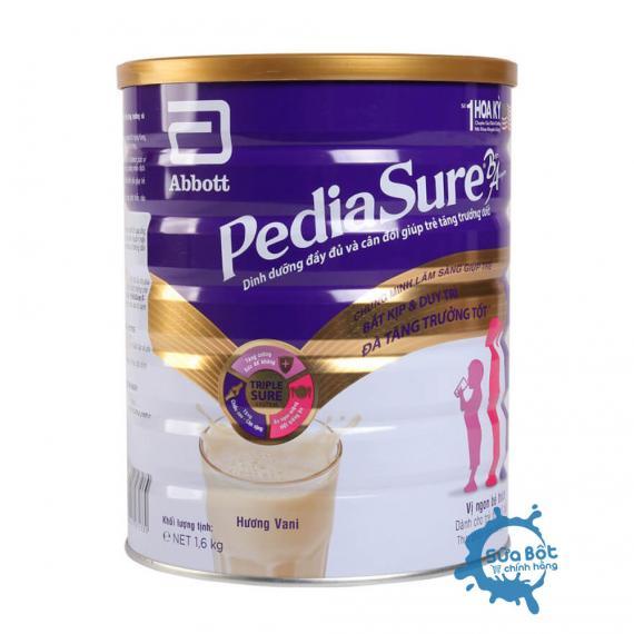 Sữa PediaSure hương Vani 1,6kg (dành cho trẻ từ 1-10 tuổi)