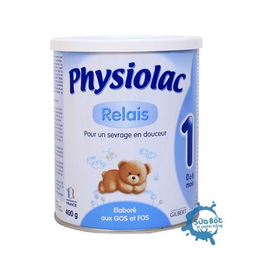 Sữa Physiolac 1 400g (dành cho trẻ từ 0-6 tháng)