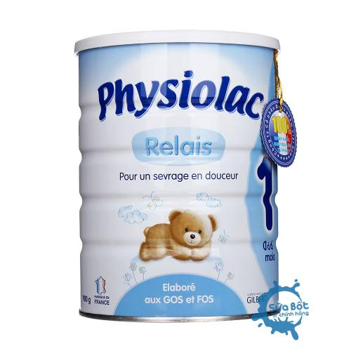 Sữa Physiolac số 1 900g (dành cho trẻ từ 0-6 tháng)