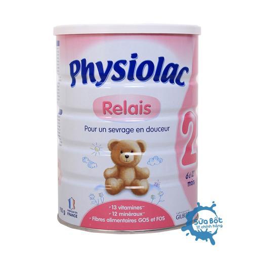 Sữa Physiolac 2 900g (dành cho trẻ từ 6-12 tháng)