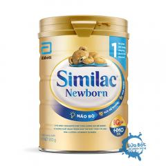 Sữa Similac 1 HMO Newborn 900g mẫu mới (dành cho trẻ từ 0 -6 tháng)
