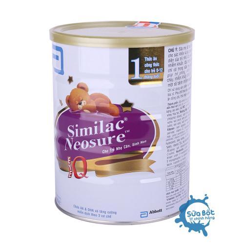 Sữa Similac Neosure IQ 1 850g (dành cho trẻ từ 0 - 12 tháng)