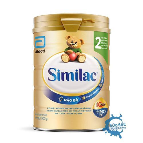 Sữa Similac 2 HMO IQ Plus 900g (dành cho trẻ từ 6-12 tháng tuổi)