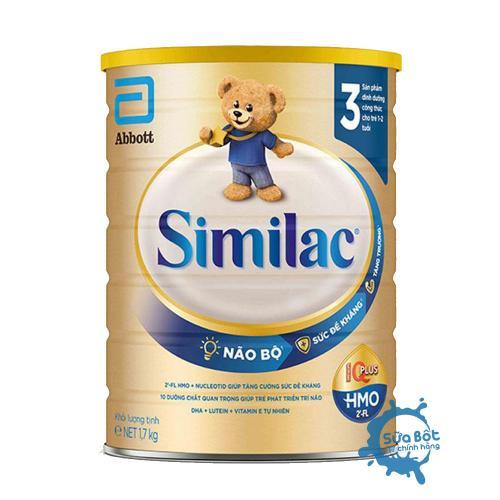 Sữa Similac 3 HMO IQ Plus 1,7kg (dành cho bé từ 1 - 2 tuổi)