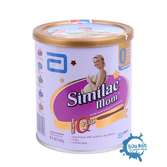 Sữa Similac Mom IQ hương vani 400g