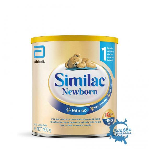 Sữa Similac 1 HMO Newborn 400g mẫu mới (dành cho trẻ từ 0 - 6 tháng)