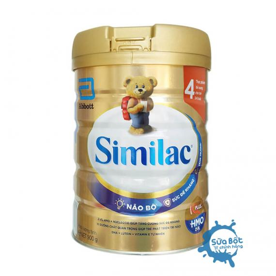 Sữa Similac 4 HMO IQ Plus 900g (dành cho trẻ từ 2-6 tuổi)