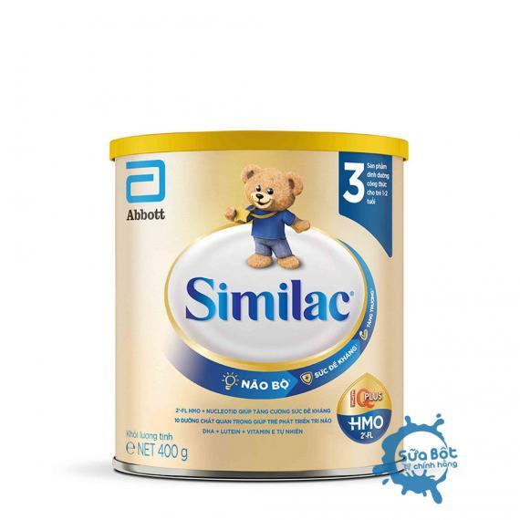 Sữa Similac 3 HMO IQ Plus 400g (dành cho bé từ 1 - 2 tuổi)