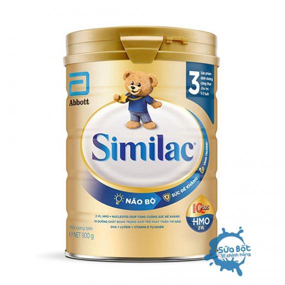 Sữa Similac 3 HMO IQ Plus 900g (dành cho bé từ 1 - 2 tuổi)