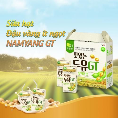 Sữa hạt đậu vàng Namyang GT ít ngọt