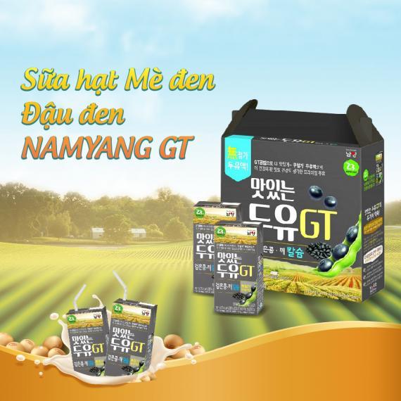 Sữa hạt mè đen, đậu đen Namyang GT